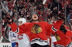 Ladies and Gentlemen, Ben Smith. 12/05/14 Hawks beat Canadiens 4-3, now 17-8-1 and 2nd in Central Division