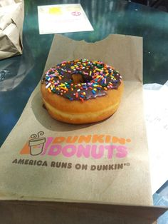 Dunkin Donuts.  As a Chicago girl, these reign supreme.  Local Phoenix Rainbow Donuts comes in 2nd, and Krispy Kreme a respectable 3rd.  :)