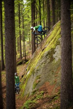 Mountain Biking, Yi-yi-yikes! by Jörg
