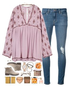 """""""you make me happier than Costco samples ;-))"""" by sdyerrtx ❤ liked on Polyvore featuring Levi's, Cosabella, Free People, Lucky Brand, Astley Clarke, Kate Spade, Agnona, Plukka, Ace and Ela Rae"""