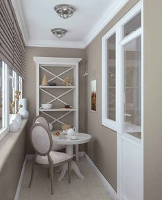 Balkon 30 Stunning Balcony Design Ideas And Remodel – Balkon ideen Interior Balcony, Apartment Balcony Decorating, Apartment Design, Home Interior Design, Apartment Ideas, Small Apartments, Small Spaces, Living Room Decor, Bedroom Decor