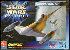 Naboo Fighter Star Wars Model Kit