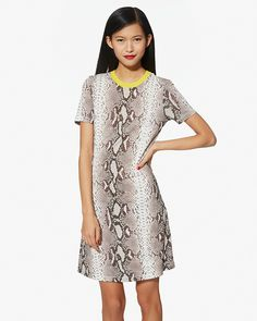 Carven Python Print Dress | LuckyShops