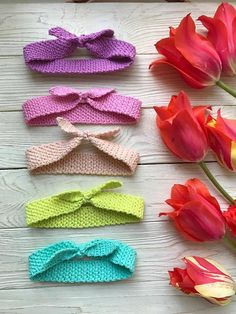 Baby headband, newborn headband, baby girl headband, infant headband, baby shower gift baby headband set toddler crochet headband baby bows