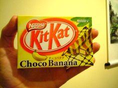 ChocoBanana Kit Kat