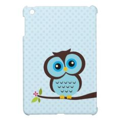This Cute Blue Owl Cover For The iPad Mini is completely customizable and ready to be personalized or purchased as is. It's a perfect gift for you or your friends. Polka Dot Background, Background Patterns, Ipad Mini Cases, Ipad Case, New Apple Ipad, Best Ipad, New Tablets, Owl Print, Cat Design