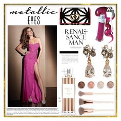 Pink Sexy Abendmode by johnnymuller on Polyvore featuring Dsquared2, Federica Rettore, Terre Mère and Henri Bendel