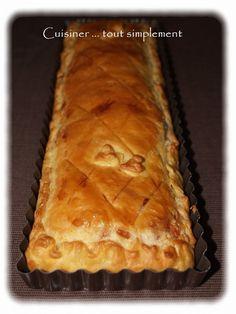 Tourte aux Champignons et au Jambon - Cuisiner... tout Simplement, Le Blog de cuisine de Nathalie Beignets, Entrees, Brunch, Pie, Diners, Quiches, Desserts, Food, Easy Cooking