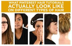 We Tried Out Pinterest Hair Tutorials And This Is What Happened | Buzzfeed