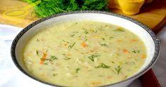 Zupa, która jest bardzo odpowiednia na pogodę za oknem... szybka, sycąca i delikatna zarazem, posmakuje dzieciom i dorosłym. 4 - ... Soup Recipes, Diet Recipes, Cake Recipes, Dessert Recipes, Cooking Recipes, Garlic Roasted Potatoes, Polish Recipes, Polish Food, Potato Soup