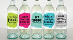These Hilarious Wine Labels Say Exactly What Were Thinking - Wine not?