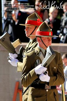 ANZAC Day, NZ forces, via Flickr.