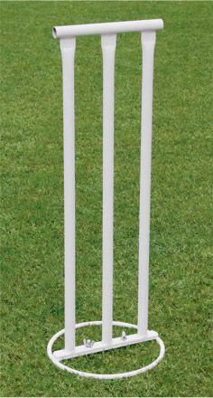 Vinex Cricket Stump Set – Fixed Sports Training, Training Equipment, Batting Tee, Cricket Equipment, Workout Attire, Workout Equipment