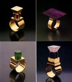 eye popping jewelry designed postmodern architects