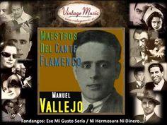 Manuel Vallejo - Fandangos: Yo No Me Hubiera Perdio / Ruégale a Dios por Salud (Flamenco Masters) - YouTube