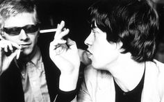 Oldham with Jagger in 1964