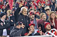 One of the great things about having alumnus Terry Mohajir as athletic director ~ he's as big a #RedWolves fan as the rest of us! #AState