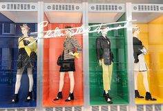 WEBSTA @ visualmerchandisingdaily - Living in color @chanel #windowdisplay #chanel #luxury #fashion #vmlife #visualmerchandising #visualmerchandiser #vmdaily via @windowslab