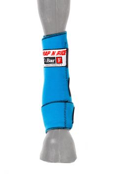 Sports Medicine Boots Wrap N Ride  The WRAP N RIDE© Boot is made of lightweight bacteria resistant Neoprene with specially woven Conforma© Fibers. Providing 360-degrees of protection and safeguarding the cannon bone, tendons and soft tissue. The uniquely designed WRAP N RIDE© stretches upon each impact of the hoof, allowing full ankle movement while eliminating hyperextension of the fetlock. Bar F Products is unsurpassed in the arena of equine performance products. The WRAP N RIDE© is…