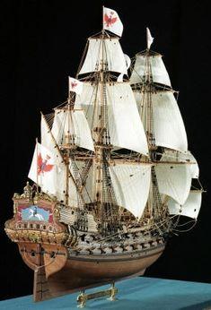 Ship Model Euromodel - Friedrich Wilhelm zu Perde