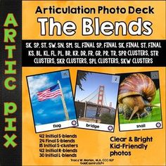 Artic Pix - The Blends. R-blends, L-blends and S-blends (including FINAL S-blends).