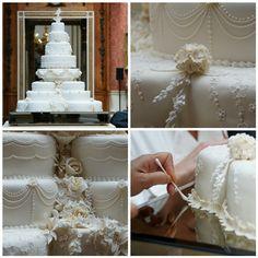 royal wedding cakes The Royal Wedding Cake Royal Wedding 2011, Royal Weddings, Our Wedding, Dream Wedding, Royal Cakes, Types Of Wedding Cakes, Amazing Wedding Cakes, William Kate Wedding, Tall Cakes