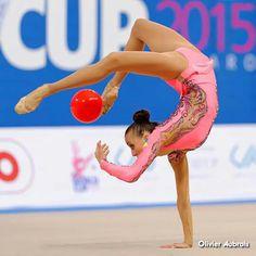 Cool elements from Anna Rizatdinova's ball routine