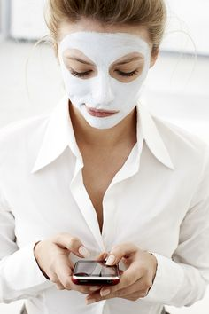 "Exfoliate less and use more masks. ""French women use masks to repair, calm, regenerate and soften the skin,"" says Bellis. ""American women tend to exfoliate more, peeling to recreate a new layer of skin. However, in most instances, over-exfoliating damages the fragile nature of the skin, many times damaging capillaries. I am not against exfoliation but advise to exfoliate with care and gentleness. Slow down with the exfoliation and complement/alternate with a good mask."" via StyleList"