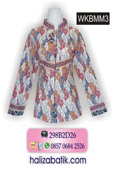 Baju batik wanita motif megamendung cantik, bahan katun tebal. Rp 95.000,- Order via SMS 085706842526