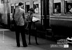 The Paperboy, by Shahnaz Parvin - This photograph was taken from Kamlapur railway station when this paperboy was with his customer. Most of paperboys at the railway station do their job on behalf of some newsstands. They came from several area, mostly outside of the capital Dhaka, and return home after finished their job.