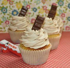 Cupcakes Kinder - Recetízate