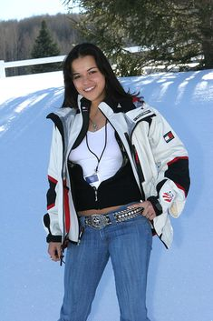 Michelle Rodriguez during 2005 Sundance Film Festival - Michelle Rodriguez Outdoor Portraits at Park City in Park City, Utah, United States. Get premium, high resolution news photos at Getty Images White Top And Blue Jeans, White Tops, Michelle Rodriguez Girlfriend, Michelle Rodrigues, Michael Rodriguez, Sundance Film Festival, Outdoor Portraits, Park City, Rihanna