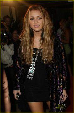Miley Cyrus boho look