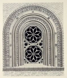 Archimaps Design For A Cathedral Window Italy Gothic ArchitectureAncient