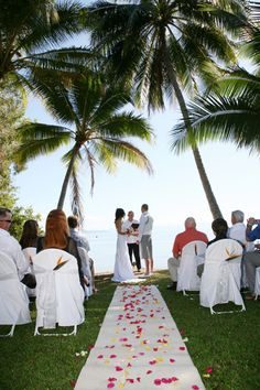 Little Cove, Port Douglas, stunning place to say 'I Do'. ♥