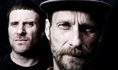 Sleaford Mods (Jason Williamson, left and Andrew Fearn)
