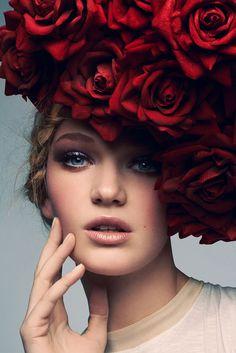 ❀ Flower Maiden Fantasy ❀ beautiful photography of women and flowers - Jeff Tse