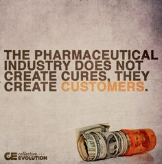 When it comes to your thyroid pharmaceutical industry doesn't create cures they create customers for life http://outsmartdisease.com