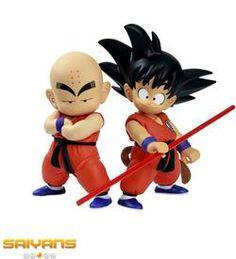 Dragon Ball Goku Krilin Figure