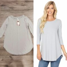 #stockedandstyled #stockonhand #stylist #stylistlife #willoughby #langley #walnutgrove #fortlangley #leggings #socialitesuite #sassysuite #fashion #styled #clothing #accessories #homeboutique #supportlocal #shoplocal #tops #tanktops #tshirts #shirts #blouse #sweater #vests #basics #staples #keypieces #lightgrey #grey #3/4sleeve #zenana #top Sweater Vests, Sweaters, Clothing Accessories, Stylists, Leggings, Boutique, Tank Tops, Grey, Blouse