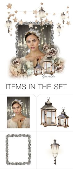 """Stary Night"" by artspirit ❤ liked on Polyvore featuring art, stars, roses and Awesomeart"