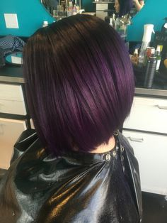 Bold Hair Color, Cut And Color, Hair Colors, Latest Short Hairstyles, Cute Hairstyles, Violets, About Hair, Hair Goals, Hair And Nails