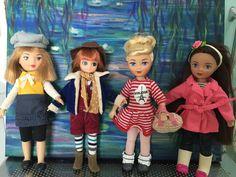 "Love my new 7""dolls."