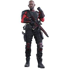 "Hot Toys DC Comics Suicide Squad Deadshot 1/6 Scale 12"" Figure * Click image for more details. (This is an affiliate link) #GrownUpToys"