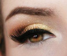 Tutorial – maquiagem dourada inspirada em Christina Aguilera