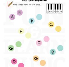 Music-Worksheets-Notes-BassClef-Space-Notes-002 | Music Worksheets ...
