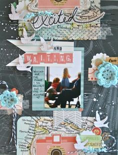 Excited and Waiting - Shimelle Crop #1 - Scrapbook.com