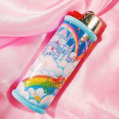 Bic Lighter, Lighter Case, Cool Lighters, Indie Room Decor, Otaku Room, Pipes And Bongs, Glass Bongs, Neon Glow, Burning Candle