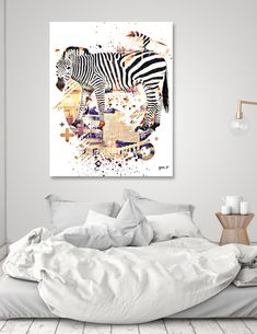 Curioos | Exclusive Art Prints by the world's finest Digital Artists Round Corner, Artists, Art Prints, Digital, Metal, Bed, Home, Art Impressions, Stream Bed