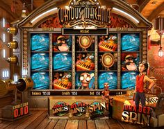 Miles Bellhouse and his Curious Machine - Slot Game